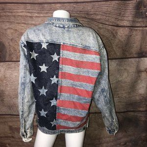 H&M Divided Jean Jacket Women's Size 8 American